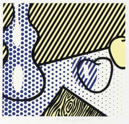 Roy Lichtenstein-Still Life, from The Geldzahler Portfolio-1997