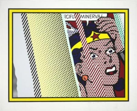 Roy Lichtenstein-Reflections on Minerva-1990