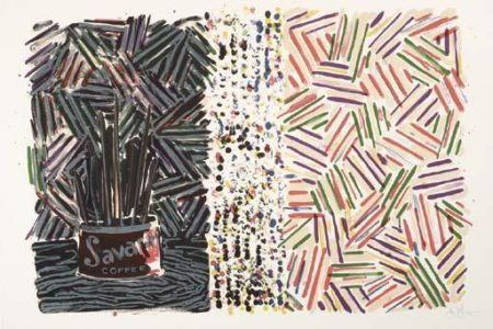 Jasper Johns-Untitled (ULAE 182)-1977
