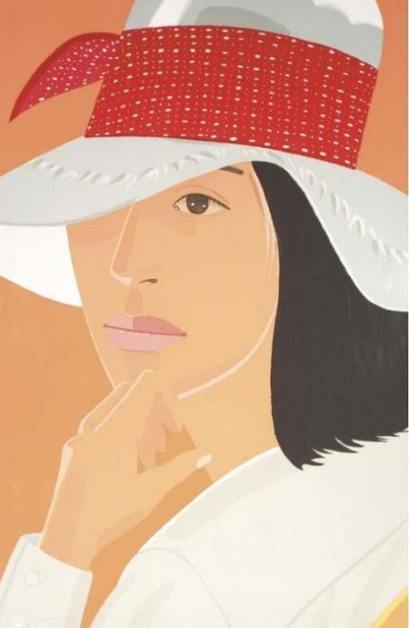 Alex Katz-The Red Band-1979