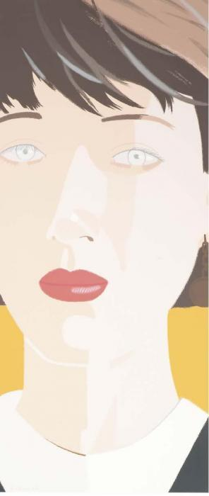 Alex Katz-Samantha-1987