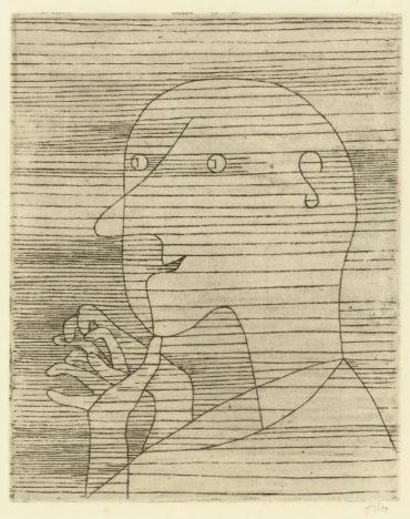 Paul Klee-Rechnender Greis-1929