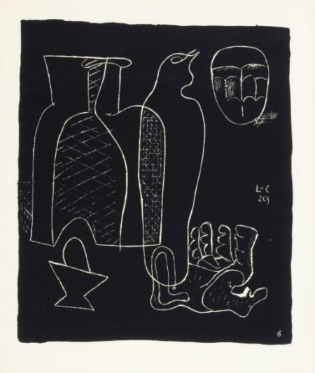 Le Corbusier-Entre-deux or Propos toujours relie-1964