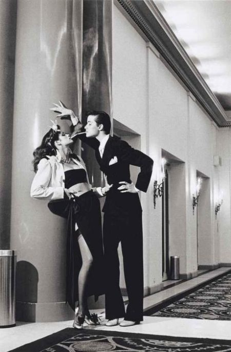 Helmut Newton-Hotel George V, For French Vogue, Paris, 1979-1979