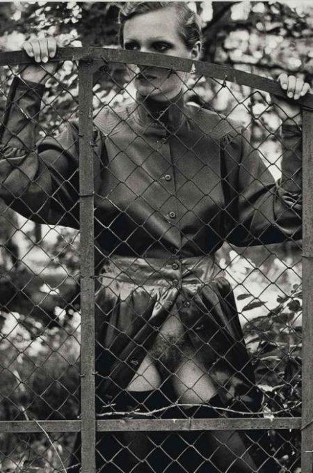 Helmut Newton-Roselyne, Arcangues-1975