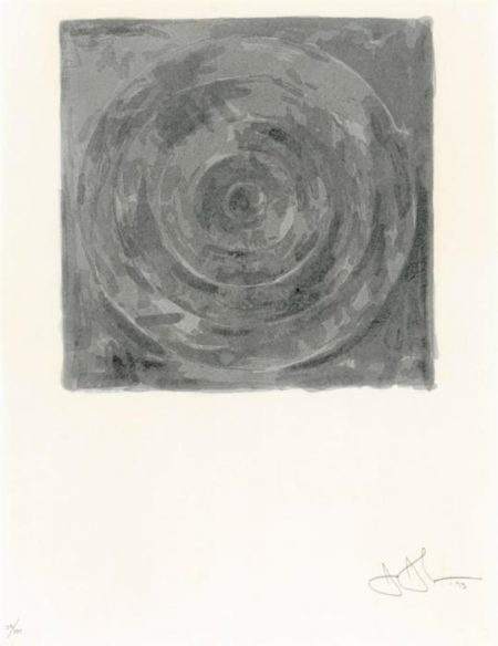 Jasper Johns-Target, from For Meyer Shapiro (ULAE 126)-1973