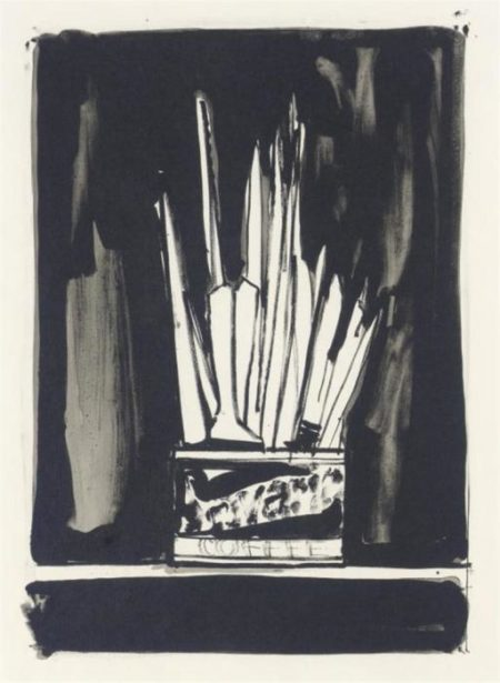 Jasper Johns-Savarin 2 (Wash And Line) (ulae 192)-1978
