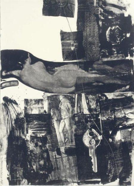 Robert Rauschenberg-Robert Rauschenberg - Breakthrough I-1964