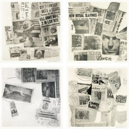 Robert Rauschenberg-Robert Rauschenberg - Features from Currents-1970