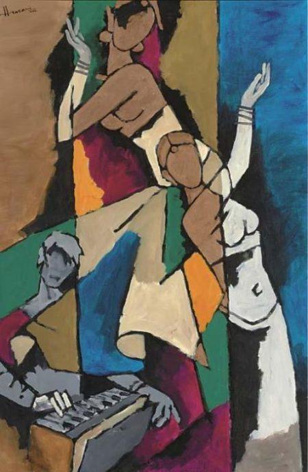 Maqbool Fida Husain-Untitled-2002