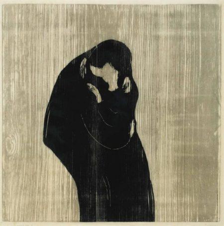 Edvard Munch-Der Kuss IV / The Kiss IV / Kyss IV (Sch 102; W 204)-1902