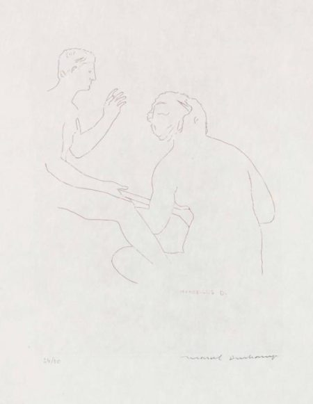 Marcel Duchamp-Morceaux choisis d'apres Ingres, I (S 649)-1968