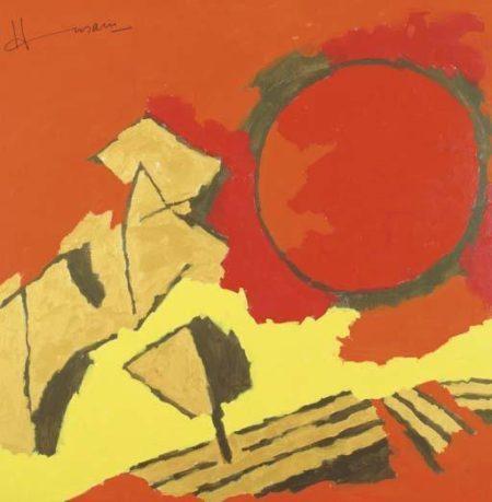 Maqbool Fida Husain-National Integration-2003