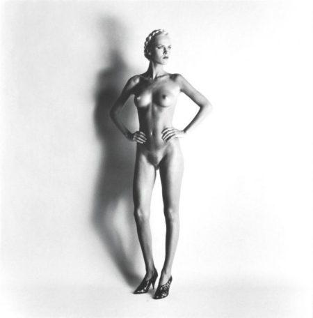 Helmut Newton-Big Nude I: Lisa (1981)-1981
