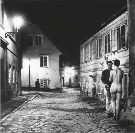 Helmut Newton-At The New World, Prague (1988)-1988