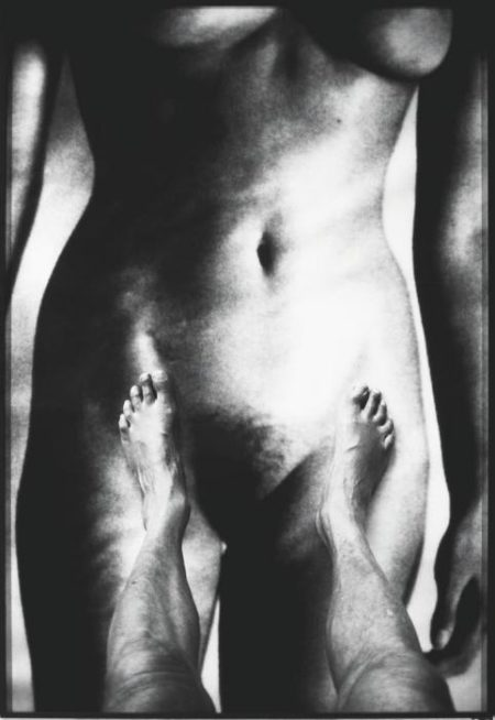 Helmut Newton-My Feet and Big Nude, Monte Carlo-1994