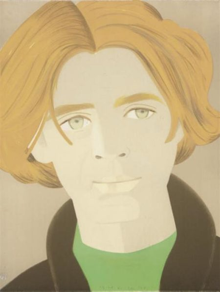 Alex Katz-Homage to Frank O'Hara: William Dunas-1972