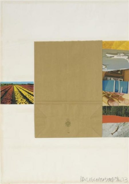 Robert Rauschenberg-Robert Rauschenberg - Plot (From Reality And Paradoxes)-1973
