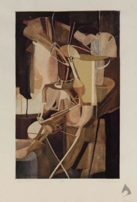 Marcel Duchamp-The Bride (Mariee) (S. 433)-1934