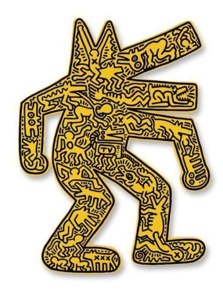 Keith Haring - Dog-1986