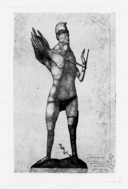 Paul Klee-Der Held Mit Dem Flugel-Invention 2-1905
