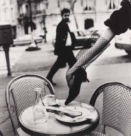 Helmut Newton-Hand In Shoe, Paris (1991)-1991