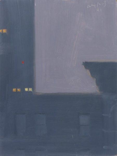 Alex Katz-11 P.M. #2 / 11:00 PM #35-1991
