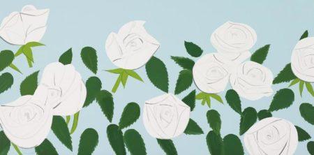 Alex Katz-White Roses-2014