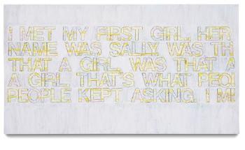 Richard Prince-My First Girl-2004