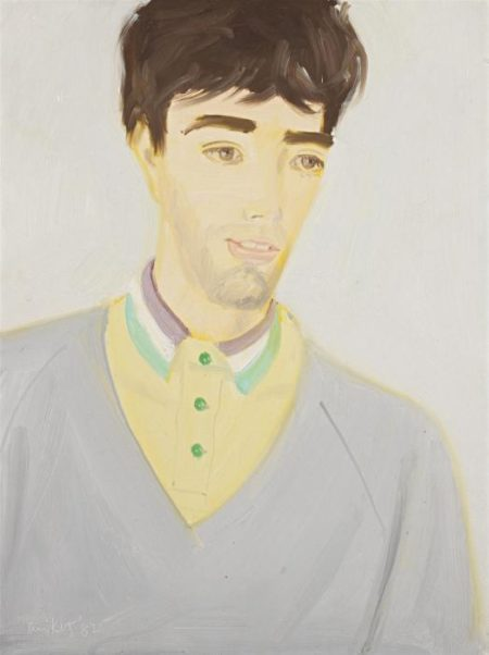 Alex Katz-Vincent, Grey Sweater-1982