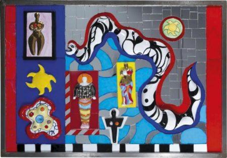 Niki de Saint Phalle-Serpent et deesses-1987