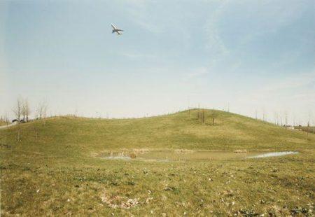 Andreas Gursky-Flugzeug Dusseldorf-1989