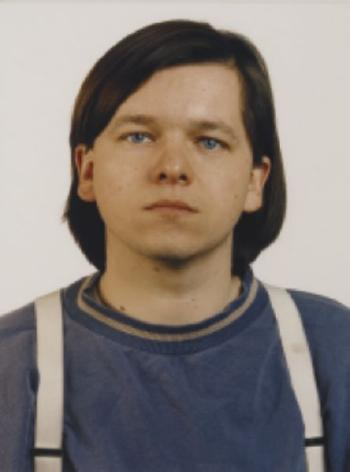 Thomas Ruff-Blaue Augen C.F./B.E.-1991