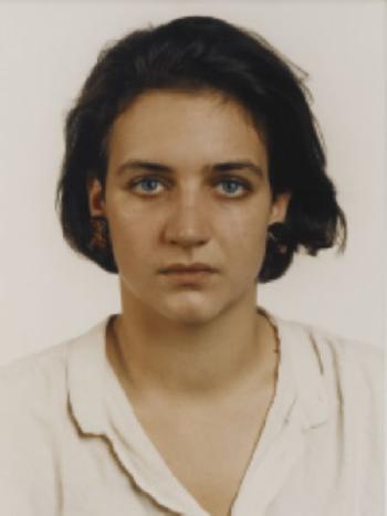 Thomas Ruff-Blaue Augen MB BE-1991