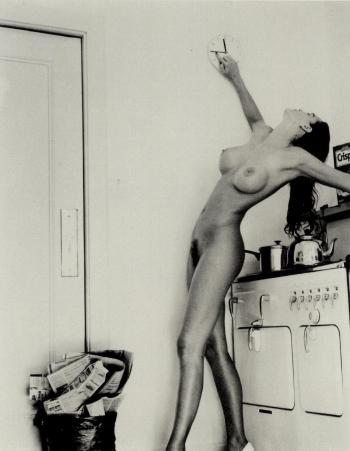 Helmut Newton-Domestic Nude IB in my Kitchen, Chateau Marmont, Hollywood-1992