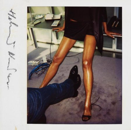 Helmut Newton-Untitled, Paris, U.S. Vogue, (Two pairs of legs)-1995