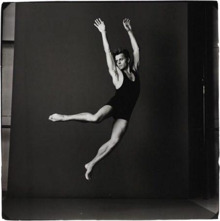 Annie Leibovitz-Mikhail Baryshnikov, Brussels, Belgium-1990