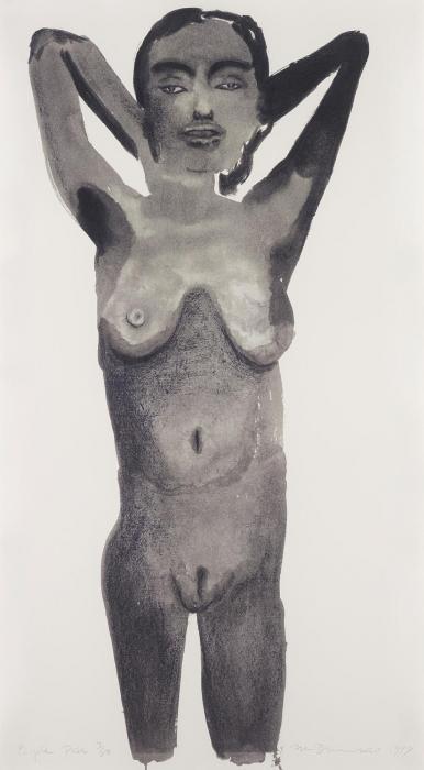 Marlene Dumas-Purple Pose-1999
