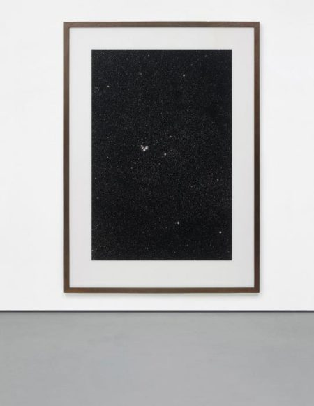 Thomas Ruff-09h 30m /-50 degrees, from Sterne (Stars)-1992