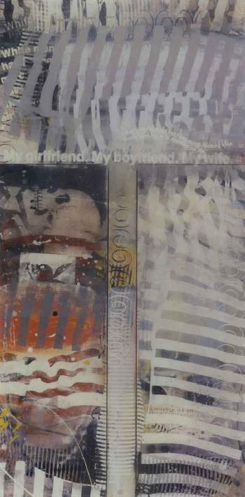 Richard Prince-Protest Painting-1994