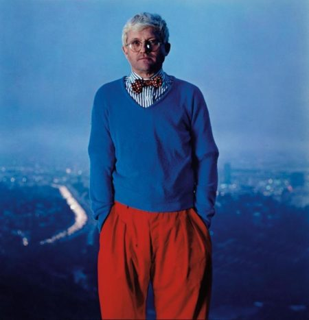 Annie Leibovitz-David Hockney, Los Angeles-1983
