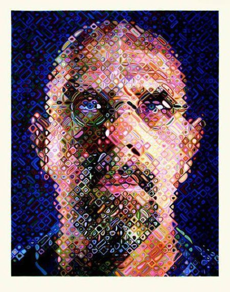 Chuck Close-Self Portrait-2007