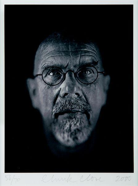 Chuck Close-Self-Portrait / Untitled-2000