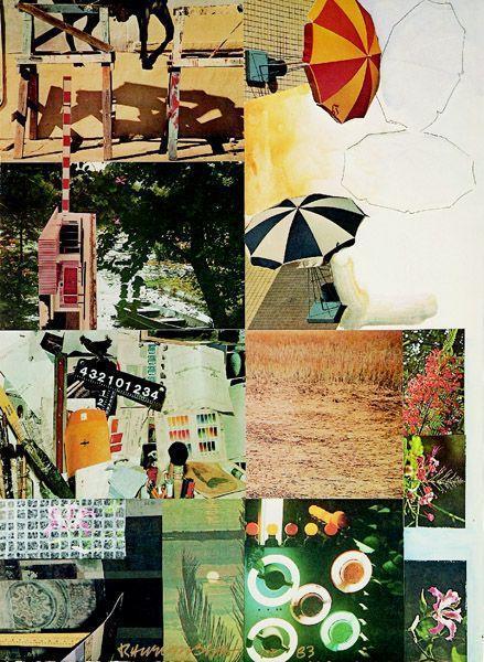 Robert Rauschenberg-Robert Rauschenberg - Umbrellas-1983