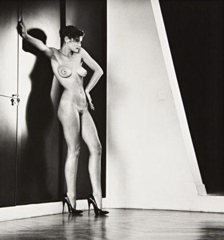 Sylvia in My Studio, Paris-1981