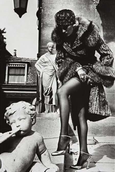 Helmut Newton-Fashion Photograph, Paris (1976)-1976