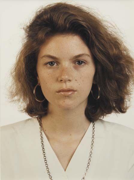 Thomas Ruff-Julie Baumgarten-1989