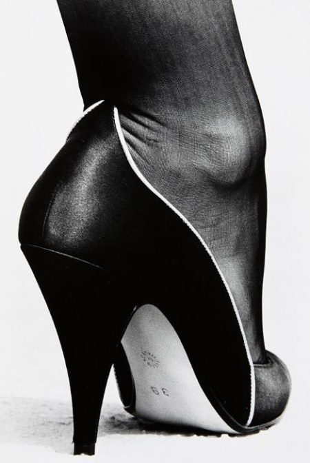 Helmut Newton-Shoe, Monte Carlo (from Private Property Suite I)-1983