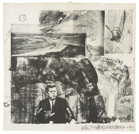 Robert Rauschenberg-Robert Rauschenberg - Ark and The Divine Comedy-1964