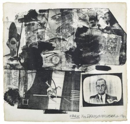Robert Rauschenberg - Mark/The Divine Comedy-1964